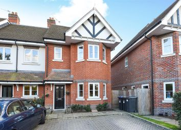 Thumbnail 4 bedroom end terrace house for sale in Bridge Road, Chertsey