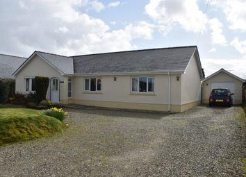 Thumbnail 3 bed detached bungalow for sale in Penrhiwllan, Llandysul