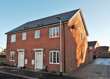 Thumbnail 3 bed semi-detached house for sale in Hamley Close, Burnham-On-Sea
