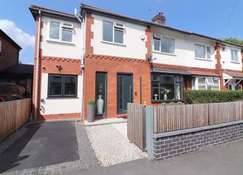 Thumbnail 4 bed semi-detached house for sale in Brentwood Road, Swinton, Manchester