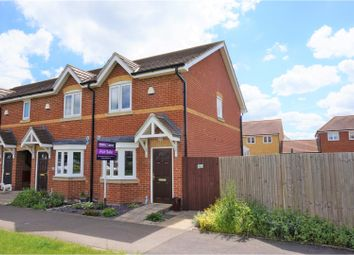 Thumbnail 2 bed end terrace house for sale in Crocus Avenue, Sheerness