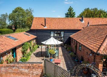 Thumbnail 5 bed barn conversion for sale in The Street, Weybread, Diss, Suffolk
