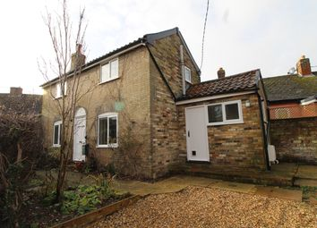 Thumbnail 2 bed cottage to rent in Masons Lane, Woolpit, Bury St. Edmunds