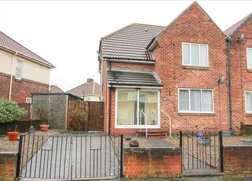 Thumbnail 2 bed semi-detached house for sale in Blagdon Crescent, Nelson Village, Cramlington