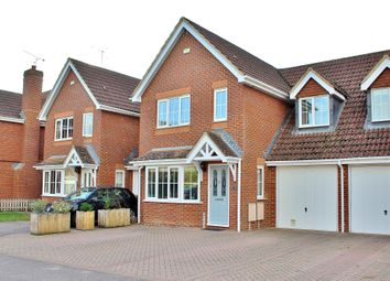Thumbnail 4 bed link-detached house for sale in Danesfield, Ripley, Woking