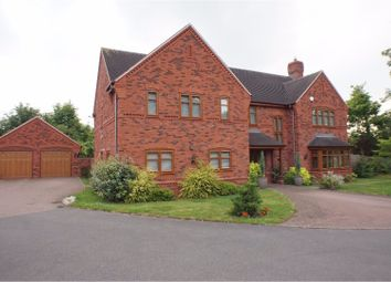 Thumbnail 5 bed detached house for sale in Clayton Drive, Lichfield