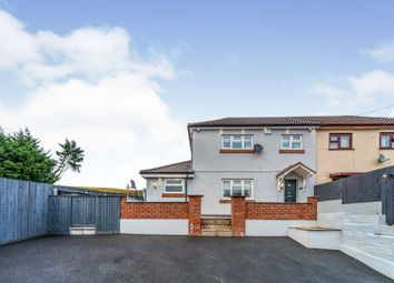 Thumbnail 3 bed end terrace house for sale in Greensway, Rhymney, Tredegar