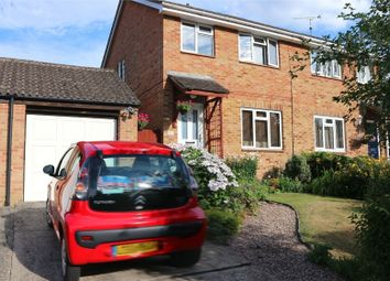 Thumbnail 3 bed semi-detached house for sale in Speedwell Close, Guildford, Surrey