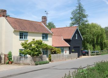 Thumbnail 4 bed detached house for sale in The Street, Newbourne, Woodbridge, Suffolk