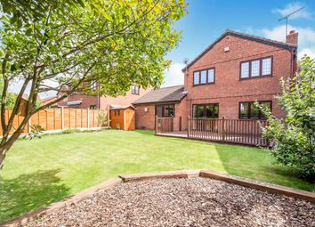 Thumbnail 4 bed detached house for sale in The Pastures, Narborough, Leicester