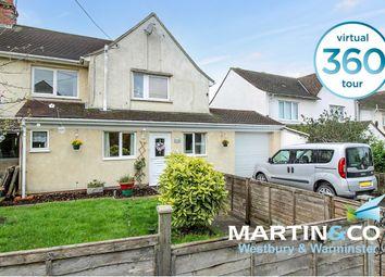 The Weir, Edington, Westbury BA13. 2 bed semi-detached house for sale