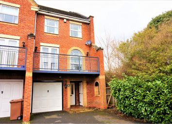 Thumbnail 4 bed town house for sale in Hollies Avenue, Cannock
