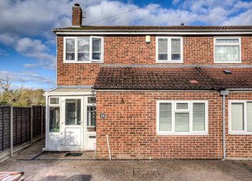 Thumbnail 4 bed semi-detached house for sale in Aynsworth Avenue, Bishop's Stortford