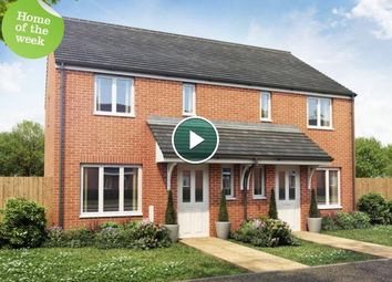 Thumbnail 3 bedroom end terrace house for sale in Plot 82 Hanbury, Cardea, Peterborough