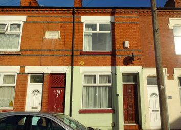 Thumbnail 2 bed terraced house for sale in Tudor Road, West End, Leicester