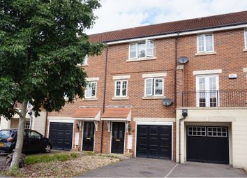 Thumbnail 3 bed town house for sale in Ruby Way, Mansfield