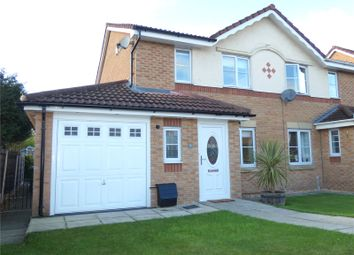Thumbnail 3 bed semi-detached house for sale in Crossfield Drive, Hindley Green, Wigan