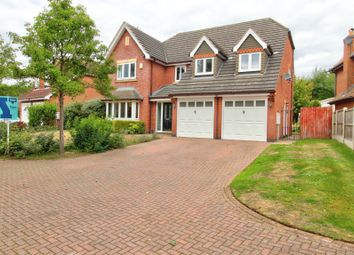 Thumbnail 4 bed detached house for sale in Fairfields Drive, Ravenshead, Nottingham