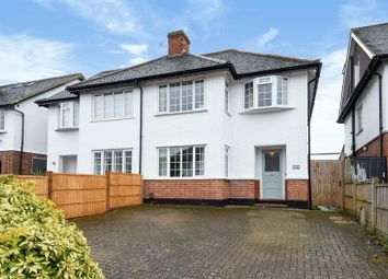 Thumbnail 3 bed semi-detached house for sale in Vaughan Road, Thames Ditton