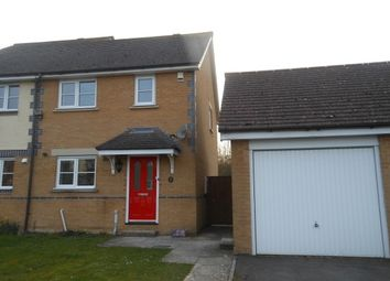 Thumbnail 2 bed semi-detached house to rent in Bonnewe Rise, Amesbury, Salisbury