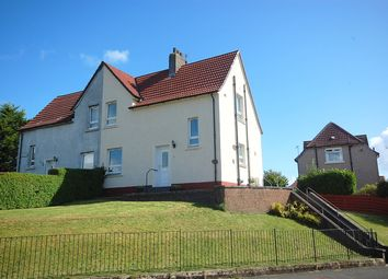 Thumbnail 2 bed semi-detached house for sale in Broom Drive, Clydebank