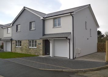 Thumbnail 3 bed semi-detached house to rent in Moorland Road, Indian Queens, St. Columb