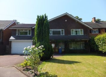 Thumbnail 6 bedroom detached house to rent in The Spinney, Little Aston, Sutton Coldfield