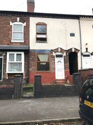 Thumbnail 1 bed terraced house to rent in James Turner Street, Winson Green
