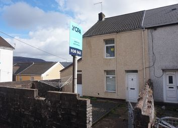 Thumbnail 2 bed end terrace house for sale in Gethin Road, Penygraig, Tonypandy
