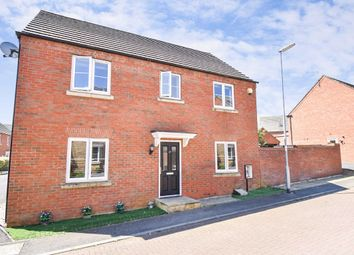 Thumbnail 4 bed detached house for sale in Windermere Drive, Corby, Northamptonshire
