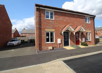 Thumbnail 2 bed semi-detached house for sale in Hornbeam Crescent, Barleythorpe, Oakham