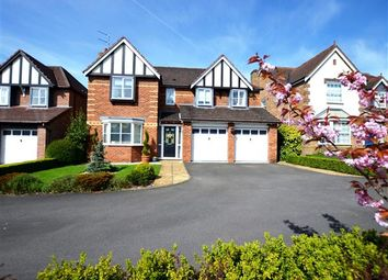 Thumbnail 5 bed detached house for sale in Bluebell Drive, Seabridge, Newcastle-Under-Lyme