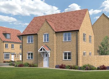 Thumbnail 4 bed detached house for sale in Malvern Walk, Corby
