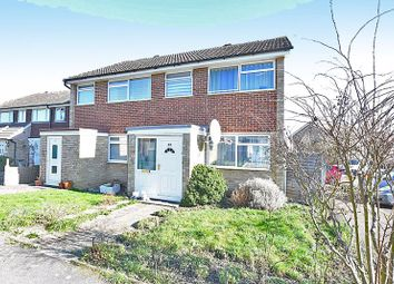Thumbnail 3 bed semi-detached house for sale in Higham Close, Tovil, Maidstone