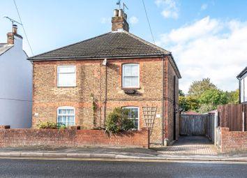 Thumbnail 2 bed semi-detached house for sale in Vale Road, Ash Vale, Aldershot