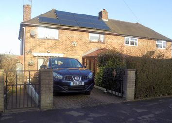 Thumbnail 3 bed semi-detached house for sale in Walton Crescent, Ashbourne, Derbyshire