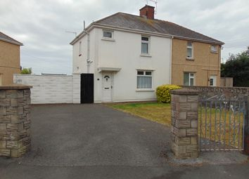 Thumbnail 3 bed semi-detached house for sale in Gwelfor, Llwynhendy, Llanelli