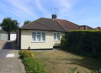 Thumbnail 2 bed semi-detached bungalow to rent in Pinewood Drive, Green St Green, Orpington