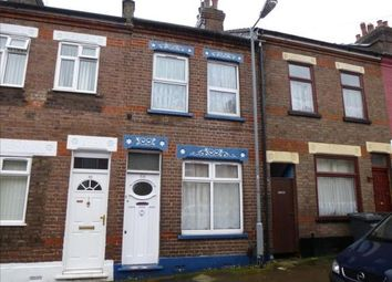 Thumbnail 2 bed terraced house for sale in Warwick Road West, Luton