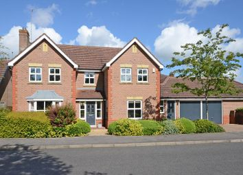 Thumbnail 4 bed detached house for sale in Heronpool Drive, Baldwins Gate, Staffordshire
