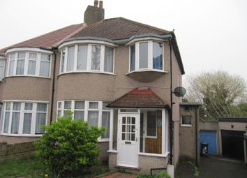 Thumbnail 3 bed semi-detached house for sale in Horsenden Crescent, Greenford