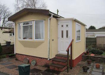 Thumbnail 2 bedroom mobile/park home for sale in Newport Park (Ref 5204), Exeter, Devon