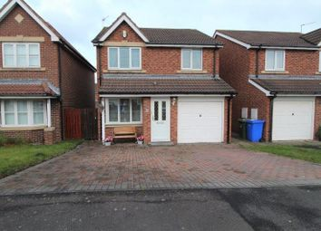 Thumbnail 3 bed detached house for sale in Hampstead Close, Blyth