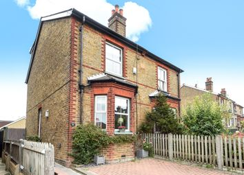 Thumbnail 4 bed semi-detached house for sale in Burgh Heath Road, Epsom