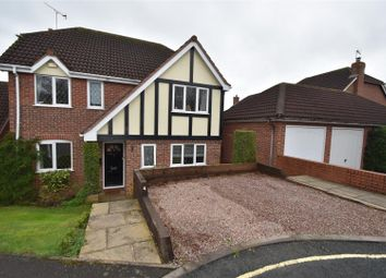 Thumbnail 4 bed detached house for sale in Viewfields, Worcester