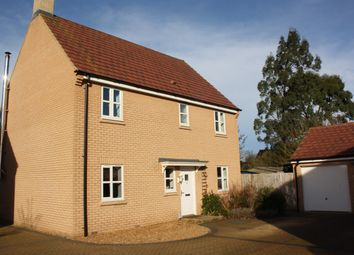 Thumbnail 4 bedroom detached house for sale in Shackleton Way, Peterborough, Cambridgeshire