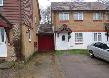 Thumbnail 2 bed end terrace house for sale in Shirley Close, Bewbush, Crawley