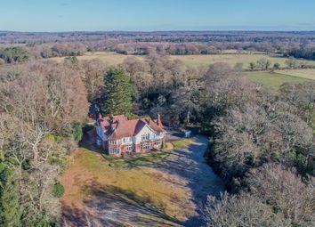 Thumbnail 9 bed country house for sale in Aldridge Hill, Brockenhurst