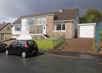 Thumbnail 2 bed semi-detached house for sale in Jacobs Drive, Gourock