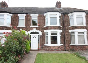 Thumbnail 3 bed terraced house for sale in Hotham Road North, Hull